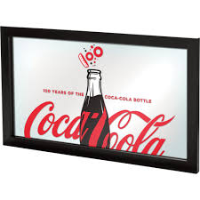 Coca Cola Patio Umbrella by 100th Anniversary Coca Cola Framed Mirror Www Kotulas Com Free