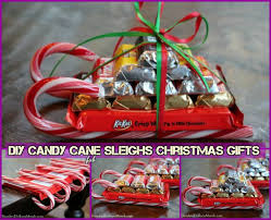 christmas candy gifts diy candy sleighs for christmas gifts