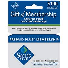 sam s club 100 membership gift card walmart