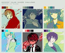 color scheme meme by fuuchi97 on deviantart
