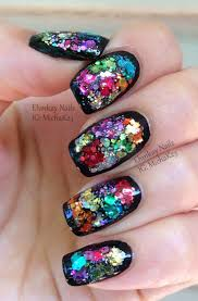 1228 best glitter nail art images on pinterest make up pretty