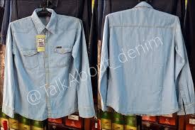 Baju Levis Biru kemeja levis daftar harga terkini dan terlengkap indonesia