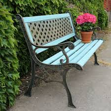 chic outdoor bench colors outdoor garden furniture in custom paint