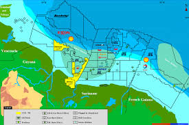 Guyana Map Guyana And Venezuela Peace Under Law Sir Ronald Sanders