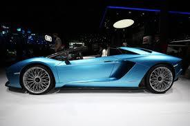 New Lamborghini Aventador - new lamborghini aventador s roadster myautoworld com