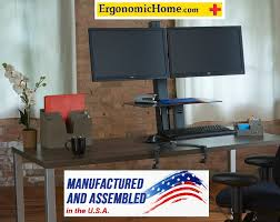 Dual Monitor Mounts For Desks Dual Monitor Stand Multi Monitor Stand Electric Motorized Tx Usa