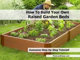 garden design garden design with how to build a raised garden bed