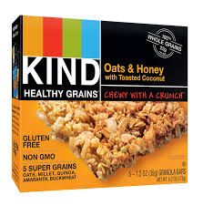 Top 10 Healthiest Granola Bars by Healthy Grains Granola Bars Oats And Honey With
