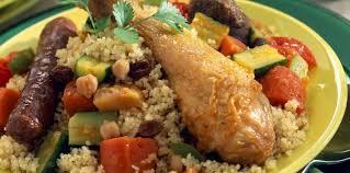 cuisiner le couscous couscous royal aux raisins secs facile recette sur cuisine actuelle
