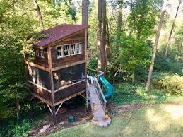 Trailside Treehouse In Rva Glamp W Prvt Bath Treehouses For