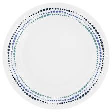 Corelle Livingware 16 Piece Dinnerware Set Winter Frost White Corelle Livingware Ocean Blues 16 Pc Dinnerware Set Corelle