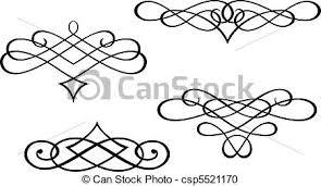 swirl clip pencil and in color swirl clip