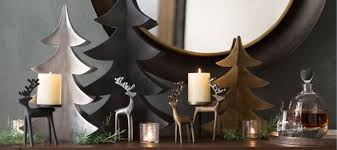 Christmas Decor For Home Christmas Decorations For Home And Tree Crate And Barrel