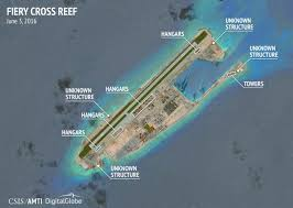 Spratly Islands Map South China Sea Dispute Csis Says Satellite Images Show China