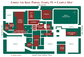 Tampa Florida Usa Map by Home Christ The King