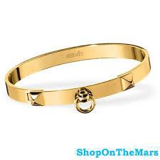 gold bracelet hermes images Hermes collier de chien gold plated bracelet jpg