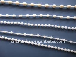 Plastic Blinds 4 5 6mm Roller Blind Plastic Ball Chain Vertical Blinds Bead Chain