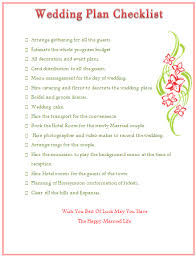 things to plan for a wedding wedding planning checklist to keep things on track