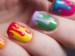 Easy Designs To Paint On Nails PicsRelevant - Easy design for nails to do at home