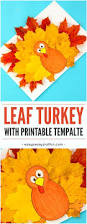 turkey leaf craft template easy peasy and fun