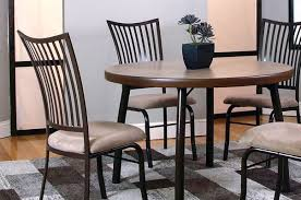 metal dining room tables metal dining set kitchen dining room unclaimed freight in