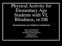 Blind Physical Therapist 33 Best Adaptive Physical Education Images On Pinterest Visual