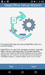 dejaoffice for android dejaoffice classroom android getting started