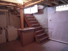 stairs to the basement remodel interior planning house ideas