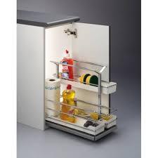 produit de cuisine panier coulissant rangement produits entretien accessoires de cuisine