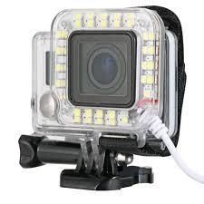ring light for video camera geeek gopro led light flash ring light geeektech com