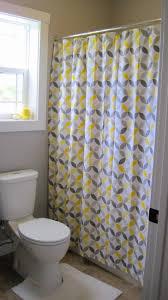 Yellow And Gray Bathroom Decor by Elegant Modern Bathroom Shower Curtain Designs Bathroom Razode