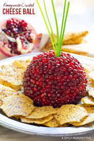 pomegranate crusted cheese recipe