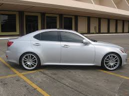 lexus is350 forum pics of my is350 with ers gtc01 ultra silver 19