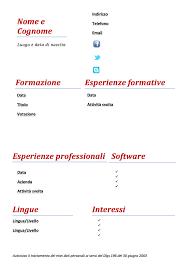 curriculum vitae formato europeo download pdf da compilare curriculum curriculum vitae modello 02 modello curriculum