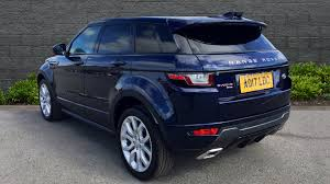 blue land rover used land rover range rover evoque hse dynamic td4 blue ao17ldc
