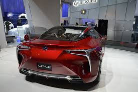 red lexus lf lc concept lexus lf lc confirmed to enter production cheaper than lfa