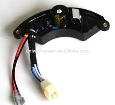electrical circuit diagram generator parts home use generator avr