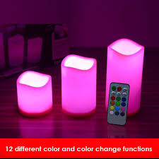 led candle remote led candle 12 different color high