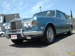 rolls royce dark blue 1973 astral blue metallic rolls royce silver shadow i 55846504