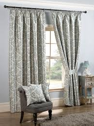Curtains 240cm Drop Ready Made Blue Pencil Pleat Curtains Uk Delivery On Window Curtains
