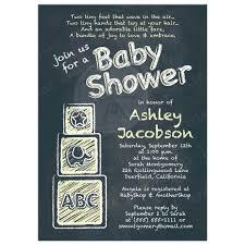 baby shower chalkboard chalkboard baby shower invitation abc alphabet blocks baby yellow
