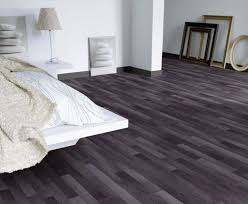 Laminate And Vinyl Flooring Bedroom Designed With Coffered Ceiling And Neutral Walls Also