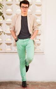 What Colours Go With Green by The Art Of Men Wearing Pastel Colors The Confused Dasher