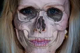 prosthetic halloween makeup beauty by linde halloween special realistic skull makeup