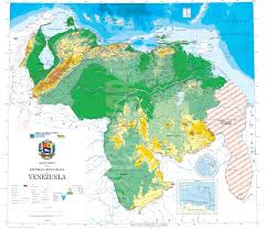 Map Of Venezuela Venezuela Map Venezuela Model Howard Models