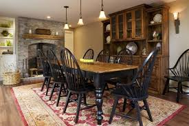 Broyhill Dining Room Country Dining Room With Wall Sconce By Lori Brock Zillow Digs