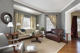 black and grey living room decorating ideas brown leather arm sofa
