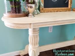 Ivory Console Table Console Table Makeover Daily Dose Of Style