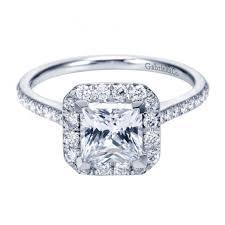 cushion ring 1 37cttw cushion shaped halo diamond engagement ring with princess
