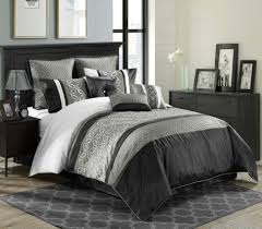 blue twin bedding bedroom magnificent black white twin comforter black and teal